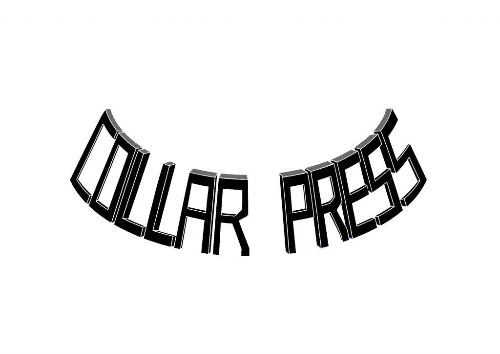 Collar press logo design