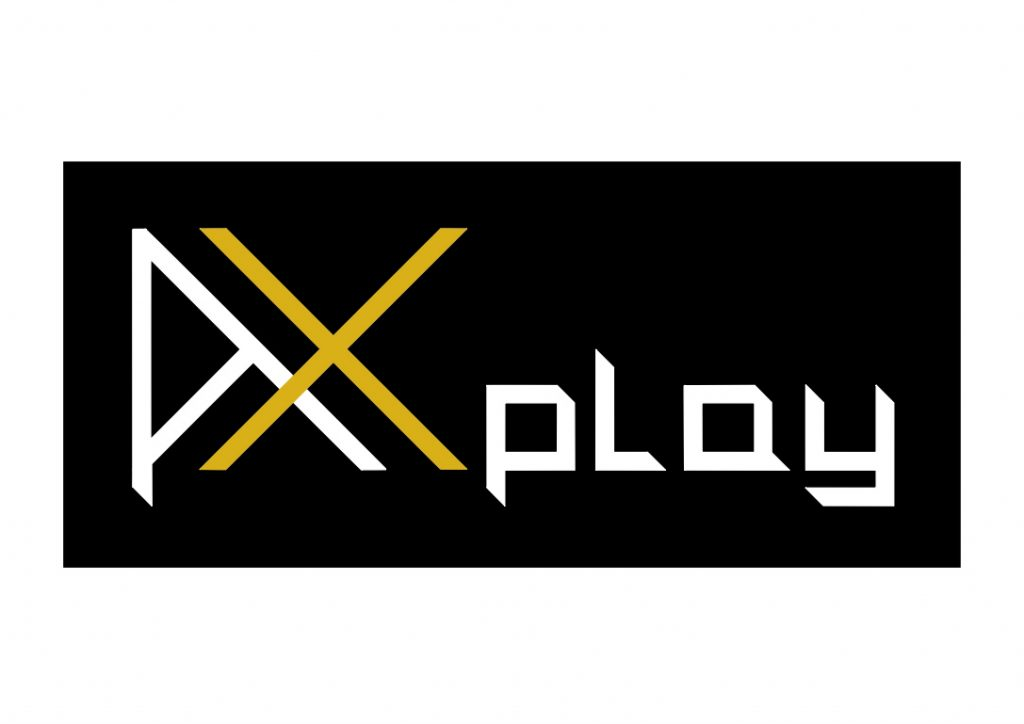 Axplay logo design