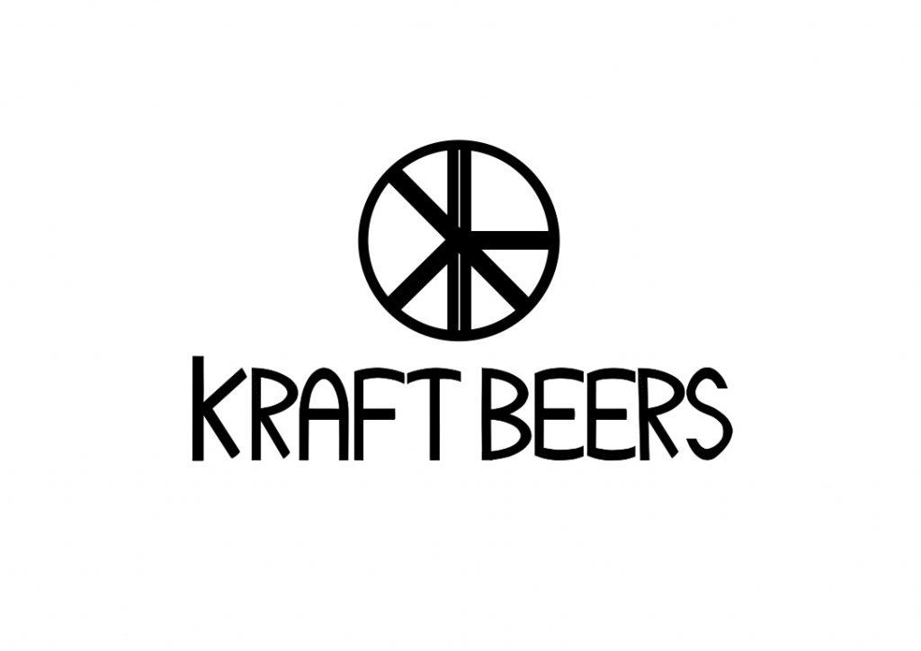 Kraft beers logo design