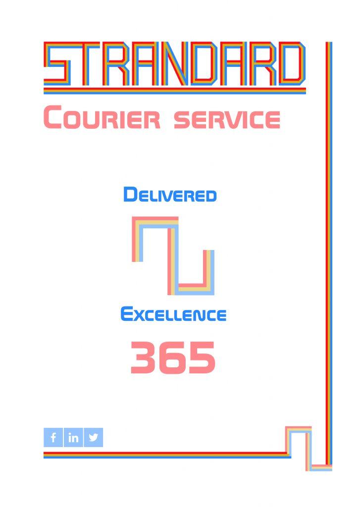 Strandard poster design
