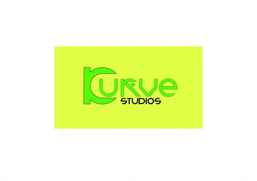 Kurve studios logo design