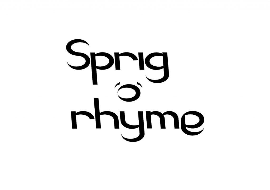 Sprig o rhyme logo design