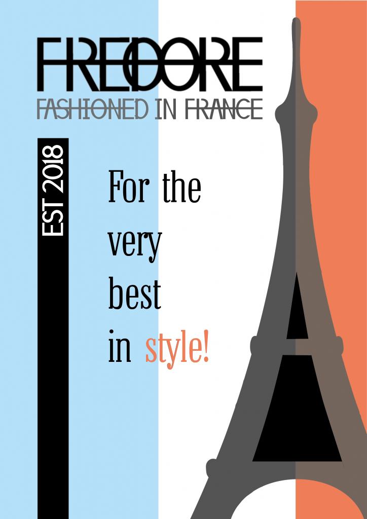 Fredore poster design