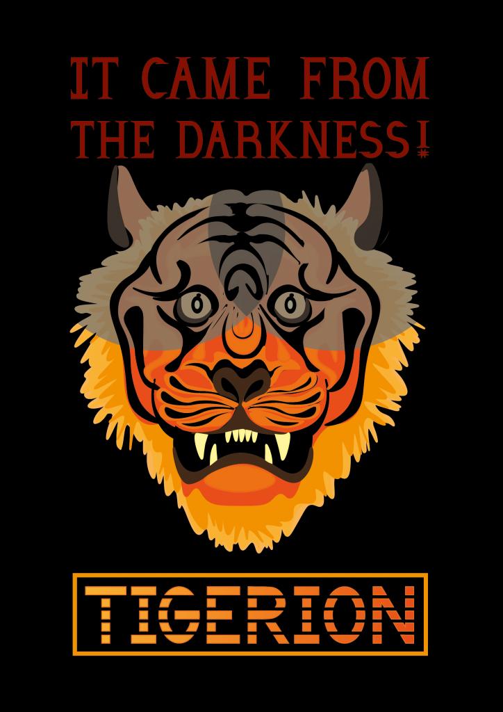 Tigerion poster design