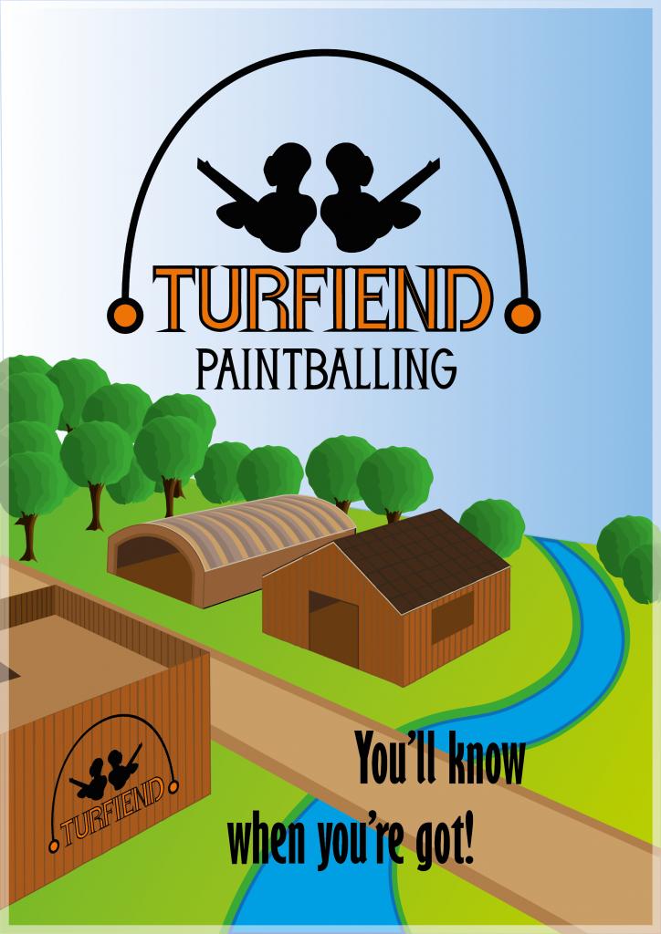 Turfiend poster design