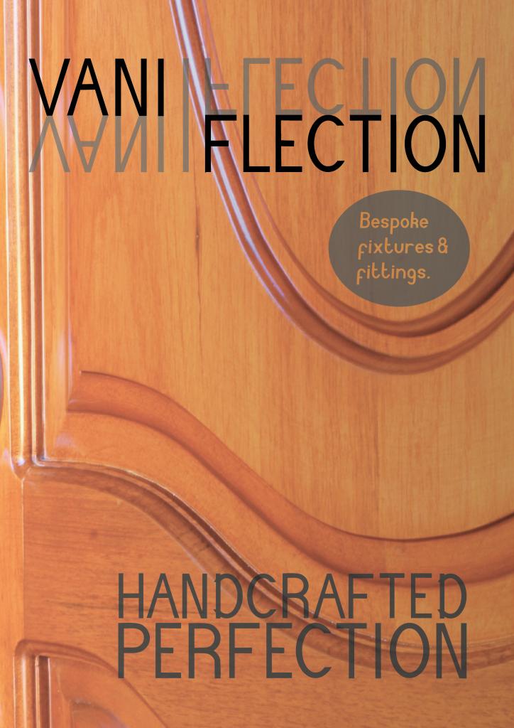 Vaniflection poster design