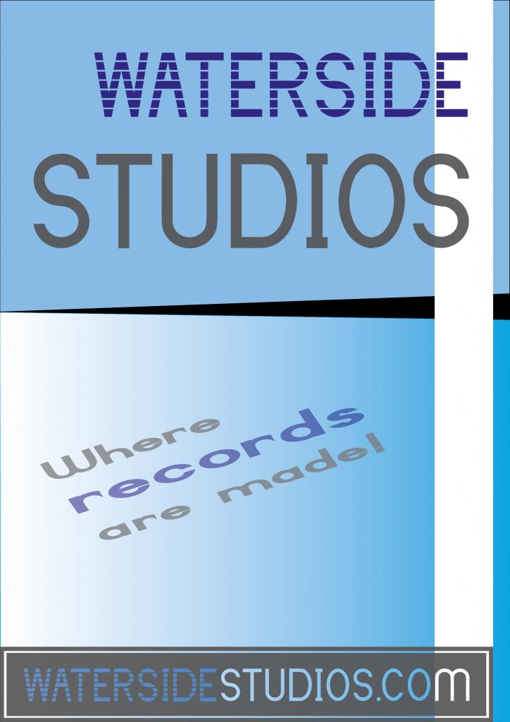Waterside studios poster design