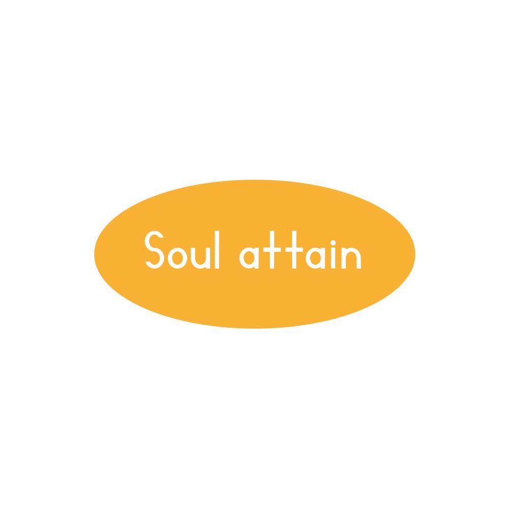 Soul attain logo design