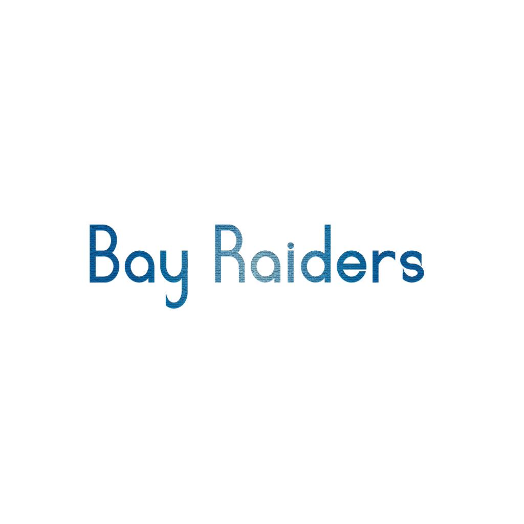 Bay raiders logo design