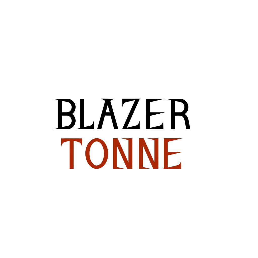 Blazer Tonne logo design