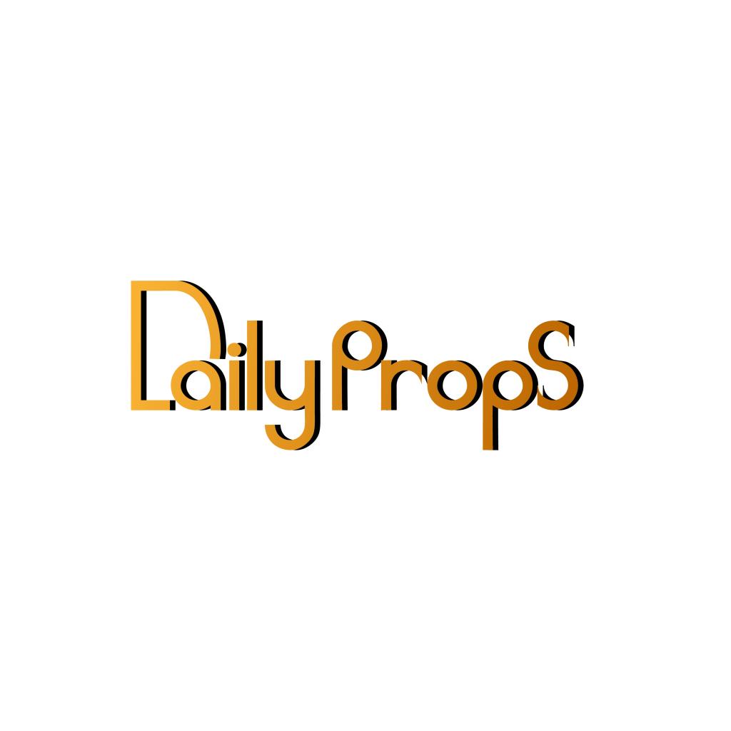 Daily Props logo design