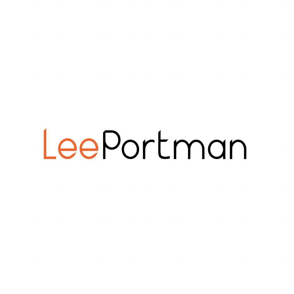 Lee Portman logo design