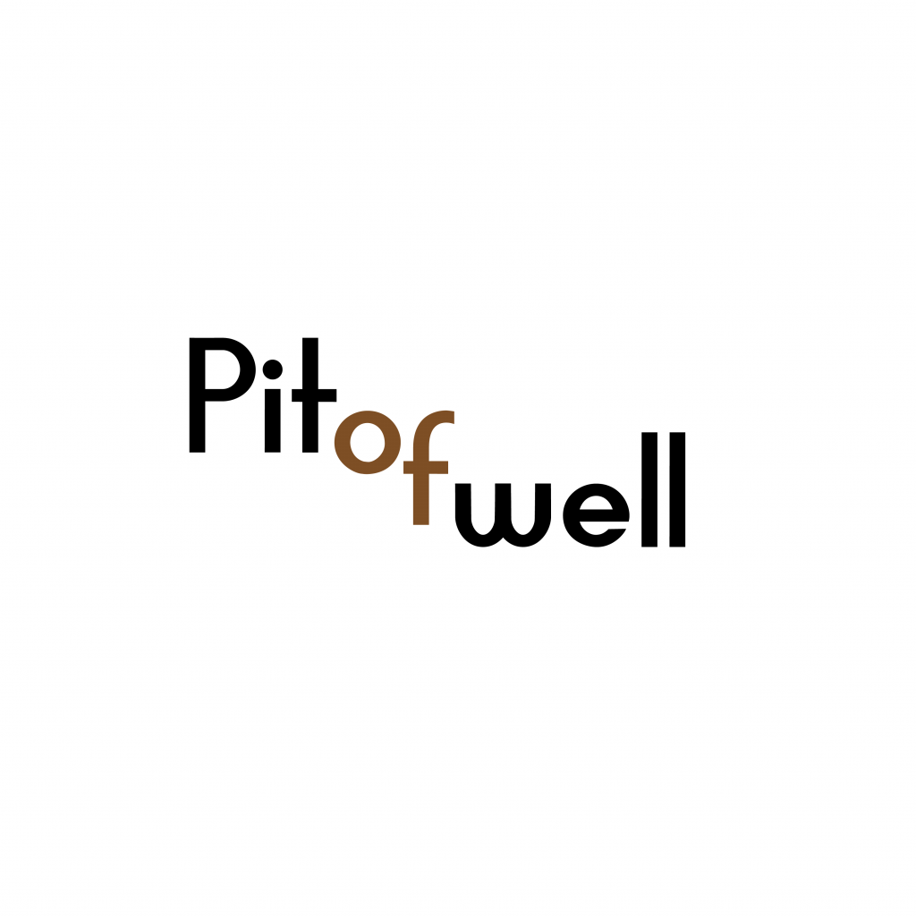 Pit of well logo design