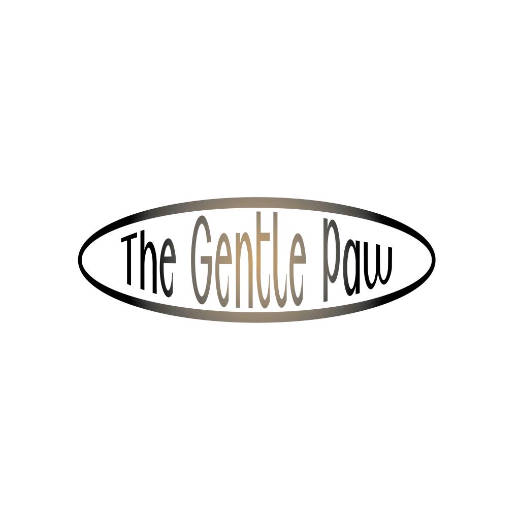 The gentle paw logo design