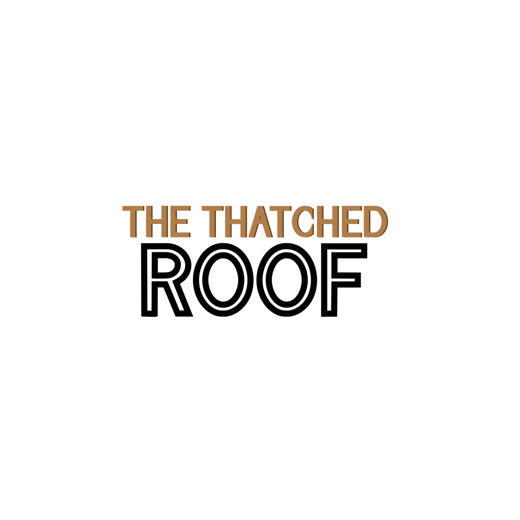 The thatched roof logo design