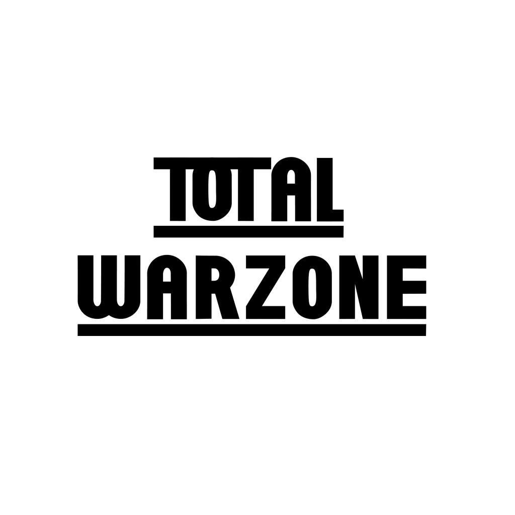 Total Warzone logo design