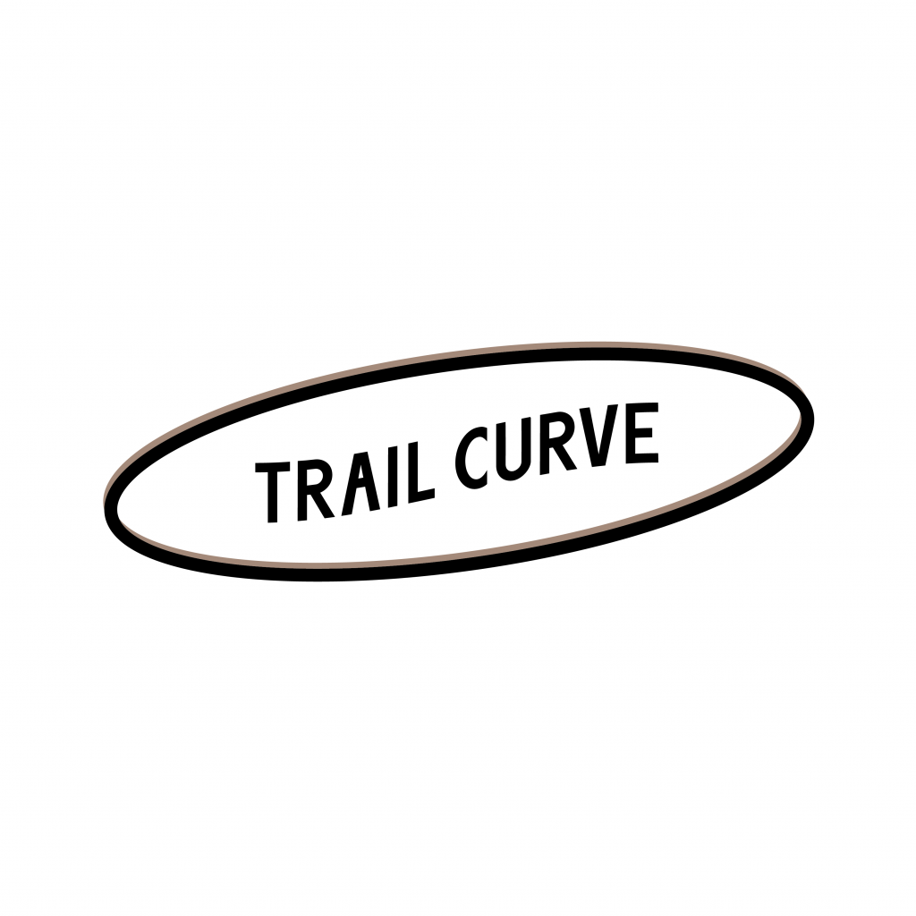 Trail curve logo design