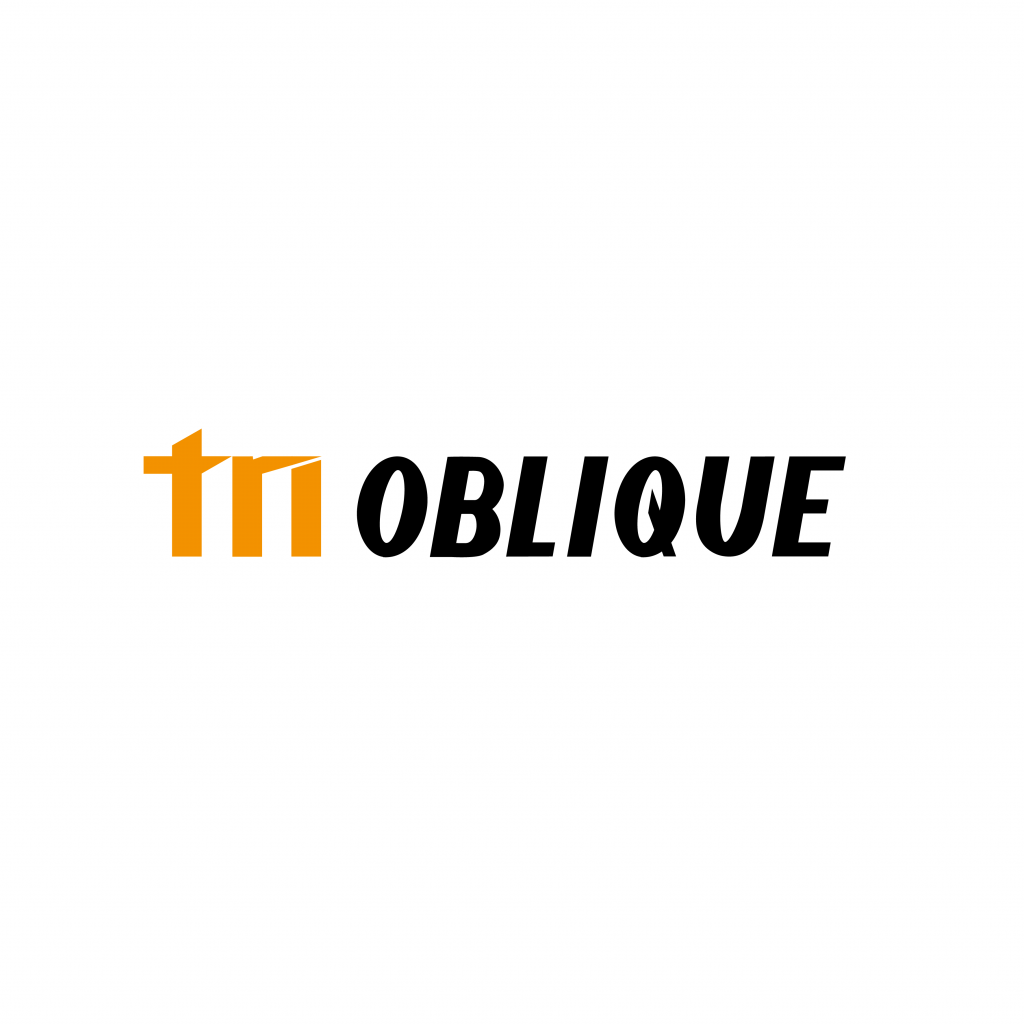 Tri oblique logo design