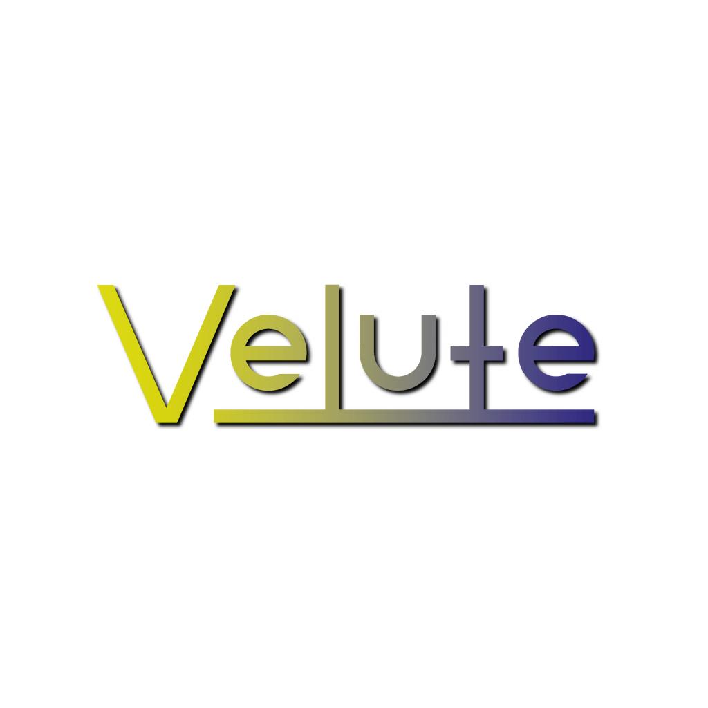 Velute logo design